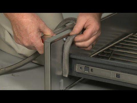 Warming Drawer Gasket - Kitchenaid Electric Slide-In Range Model #KSEB900ESS2