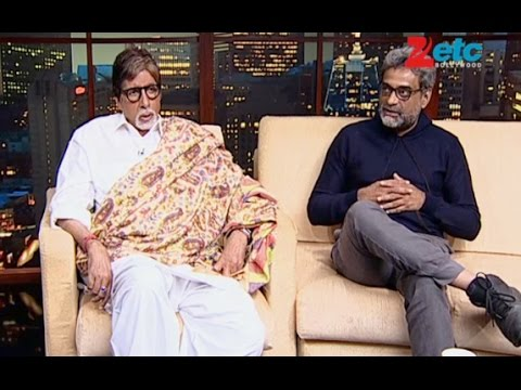 Amitabh Bachchan and 'Shamitabh' director R.Balki in conversation with Komal Nahta