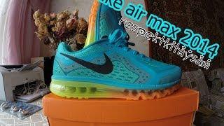 Посылка из китая. Aliexpress. Мужские кроссовки Nike air max 2014 (Unboxing))(Кроссовки Nike air max 2014 . Заказывал на aliexpress. Пришла посылка из Китая примерно за 35 дней. Продавец показал докум..., 2014-04-12T13:31:09.000Z)