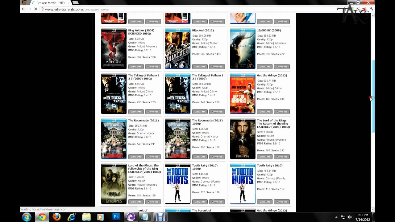Is It Safe and Legal to Download Movies and Other Files from Torrent Sites?