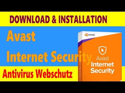 Avast Internet Security 2018 Download installieren & testen Deutsch
