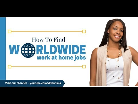 How To Find Worldwide Work from Home Jobs (20+ Countries)