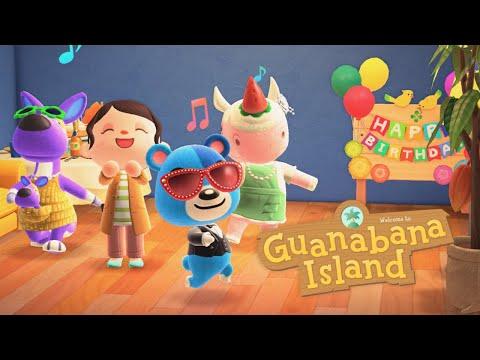 It's My Birthday In Animal Crossing New Horizons 🎉