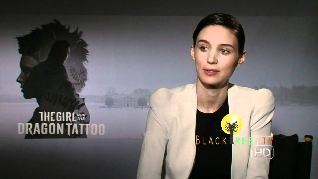 Dragon Tattoo's Rooney Mara talks about piercings, 'Globes' and best movie  of the year