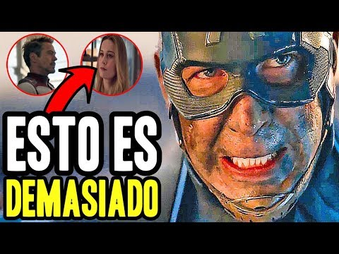 ¡ME DESCONTROLÉ! trailer 2 de ENDGAME reacción mini analisis