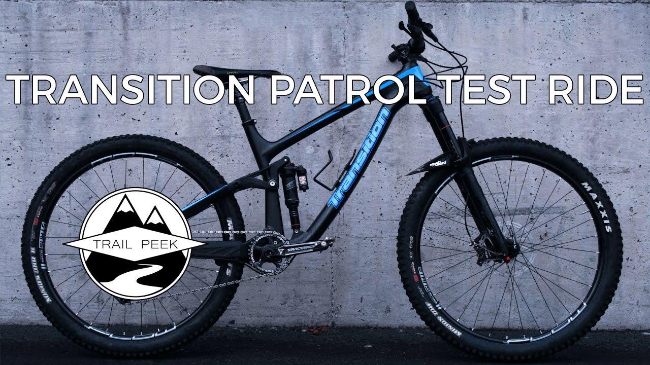 b3d2c7a8b0d 2017 Transition Patrol Carbon - Test Ride - YouTube