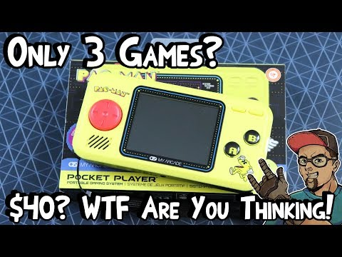 Pac-Man Handheld By My Arcade... Or More Like Crap-Man!!! - Review!