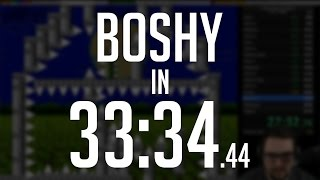 I Wanna Be The Boshy 2017 Any% Speedrun in 33:34.44