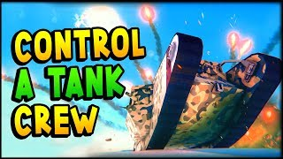 Armored Battle Crew - TANK and CREW MANAGEMENT Simulator Gameplay