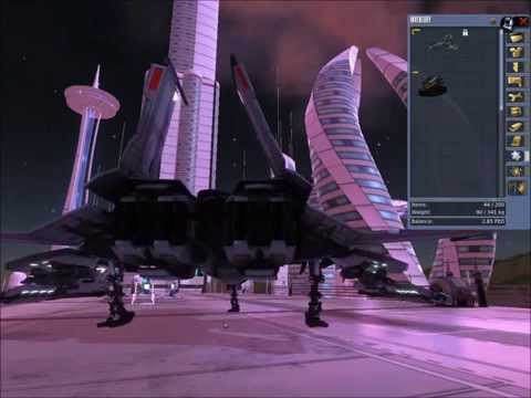 Space travel Entropia Universe