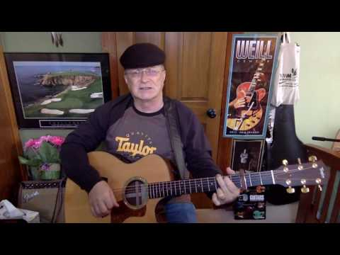 2188 -  Holiday -  Bee Gees cover -  Vocal & acoustic guitar & chords