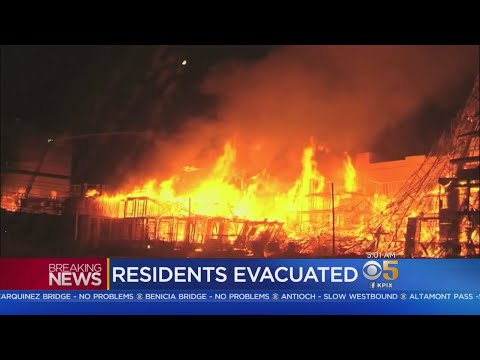 CONCORD FIRE: Two injured, more than100 evacuated by massive fire in Concord