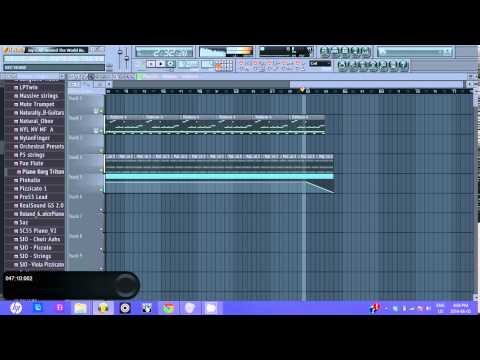 Jay-Z - All Around the World (FL Studio Instrumental Remake)