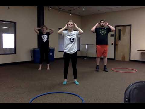 Learning to Hula Hoop   Lesson 4