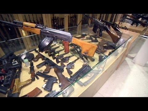 Avrupa'da yasa dışı silahlarla...