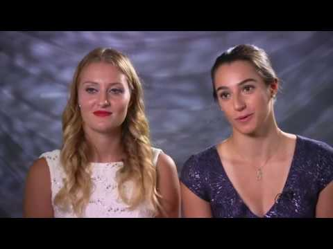 Caroline Garcia & Kristina Mladenovic | 2016 WTA Finals Pre-Tournament Interview