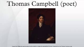 Thomas Campbell (poet)