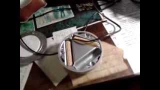 подключение к блоку питания вместо батареек.
