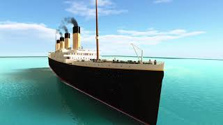 "Roblox Titanic OST 1 - Track 1 - ""Welcome To The Ship Of Dreams!"""