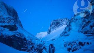 Lyrid meteor shower illuminates sky over China