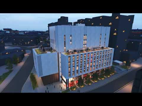 Leeds Beckett University's new £80m Creative Arts building - Architects fly-through