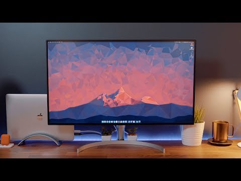 Hands-On With LG's Latest UltraFine 4K Display With Thunderbolt 3 Support