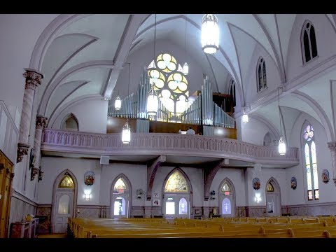 Hybrid Organ Video: Gregory M. Lesko plays: 'Via Dolorosa' by Billy Sprague and Niles Borop.