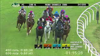 Vidéo de la course PMU PREMIO CHIAMBELLA 2008