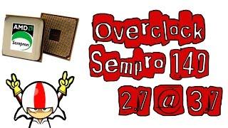 Overclock Sempron 140 2.7 Ghz @ 3.7 Ghz - Single Core