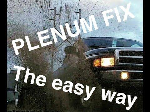 Dodge Ram Plenum repair (2nd gen 94-01) with All torque specs (in video discription)