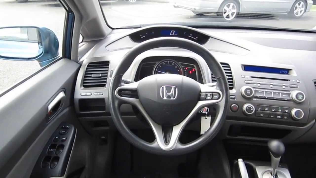 2010 Honda Civic EX-L Coupe Start up, Walkaround and Vehicle Tour .