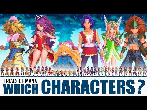 TRIALS OF MANA: Every Character & Class Explained | Pick The Right Team Combo!