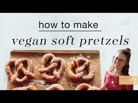 Cinnamon Sugar Soft Pretzels Recipe (Vegan)