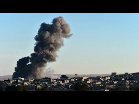 مقتل عشرات المدنيين في ضربة جوية للتحالف الدولي استهدفت سجنا في الميادين  - نشر قبل 15 دقيقة