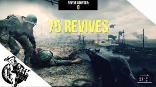 Battlefield 1 - HACKSAW RIDGE CHALLENGE (75 Revives)