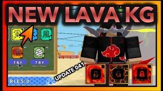 NEW LAVA RELEASE KG !| [041] UPDATE NEW KEKKEI GENKAI| ROBLOX Naruto RPG- Beyond |