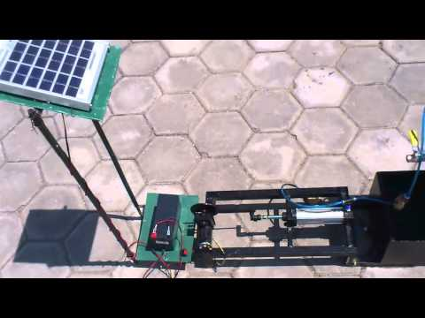 mechanical project SOLAR BASED RECIPROCATING PUMP
