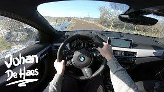 2018 BMW X2 sDrive20i M Sport 192 hp POV test drive