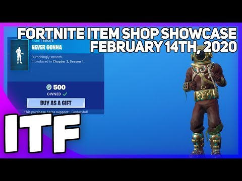 Fortnite Item Shop *NEW* RICK ROLL EMOTE WHAT! [February 14th, 2020] (Fortnite Battle Royale)