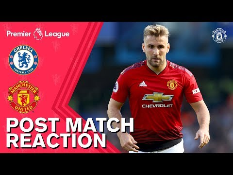 Post Match Reaction | Chelsea 2-2 Manchester United | Mourinho, Young & Shaw thumbnail