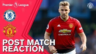 Post Match Reaction | Chelsea 2-2 Manchester United | Mourinho, Young & Shaw