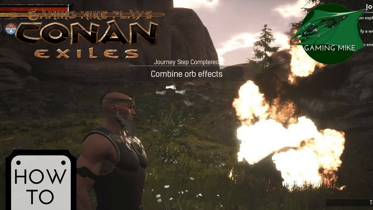 How to Combine Orb Effects | Chapter 5 Objective | Conan Exiles