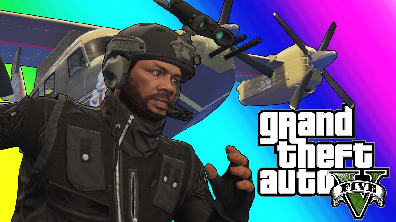 GTA 5 - New Attack Plane and Roflcopter Sumo!