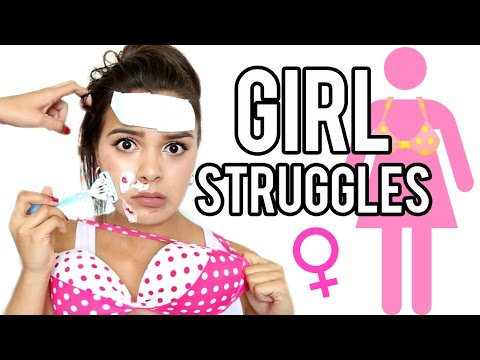 17 GIRL STRUGGLES Every Girl Can Relate To! | NataliesOutlet