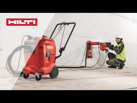 COMPARISON of the Hilti DD WMS 100 water management system vs traditonal methods