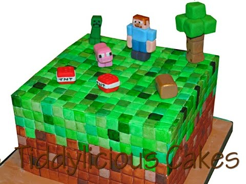 Minecraft Cake Toppers Part Two