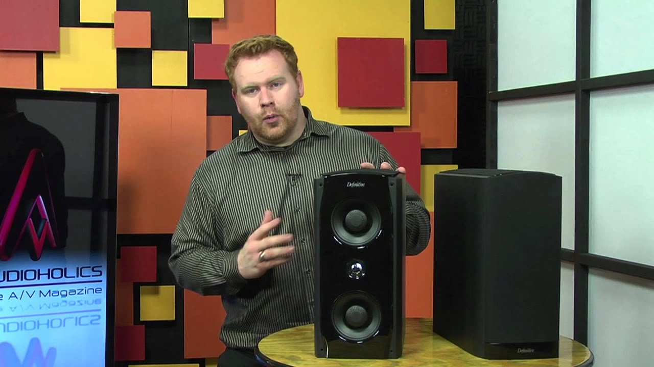 Definitive Technology StudioMonitor 65 Speakers Video Review YouTube