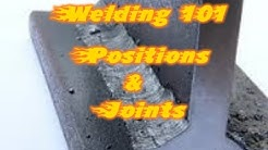 Learn Welding Positions and Joints