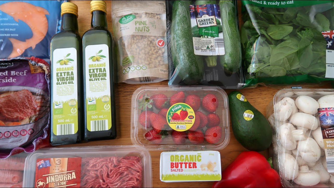 Aldi Grocery Haul - Low Carb Keto Diet Foods - YouTube