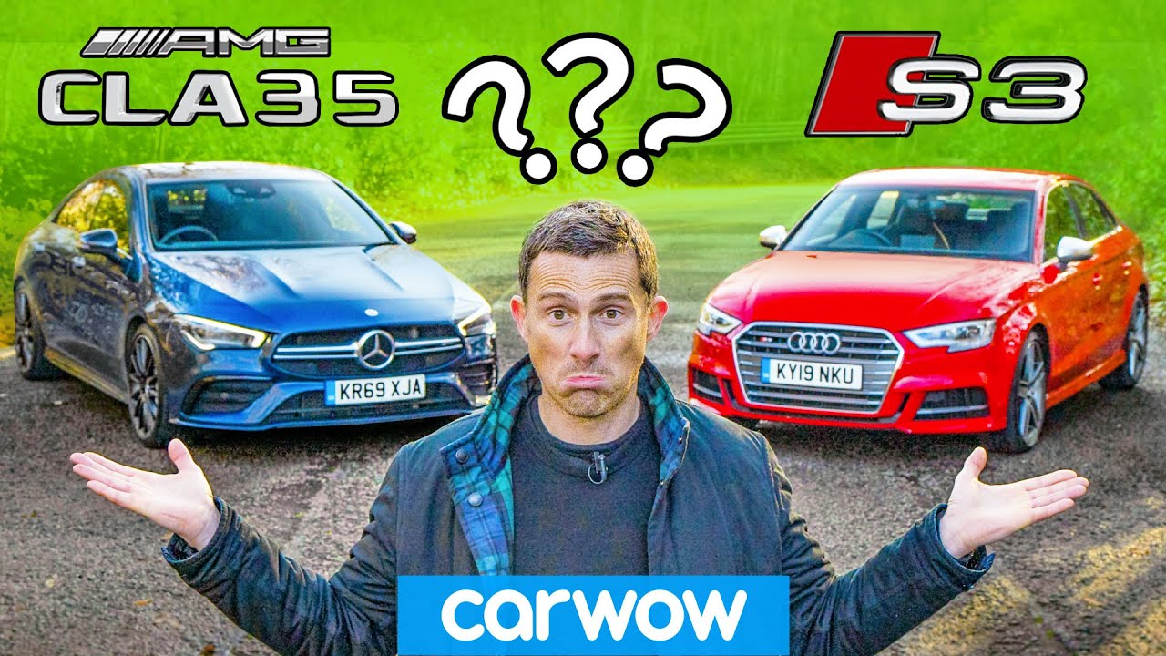 AMG vs Audi: only car you ever need CHALLENGE!